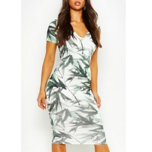 NWT ASOS | Green Leaf Dress